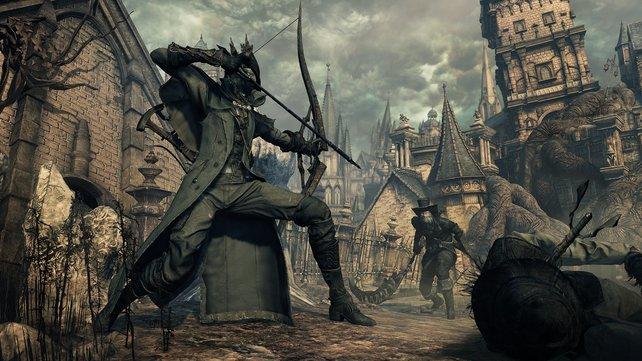 Bloodborne: Die Kombination aus hohem Schwierigkeitsgrad und gewalttätigen Inhalten kann laut einer Studie auch außerhalb des Spiels zu aggressivem Verhalten führen.