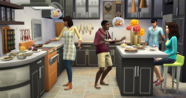 Ladet ein paar Freunde ein und probiert die neuen Küchenhilfen.