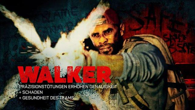 Walker ist ein ehemaliger Army Ranger und Kriegsveteran.