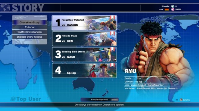 Ryu - Story