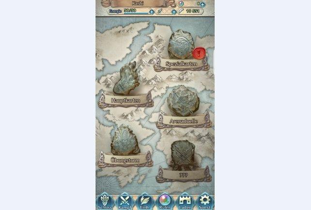 Die Arena in Fire Emblem Heroes ist zunächst nicht anwählbar. Absolviert erst ein paar Kapitel!