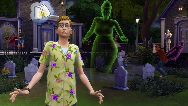 """Ein überraschender Anruf stellt einen """"Die Sims 4""""-Spieler vor eine schwere Entscheidung."""