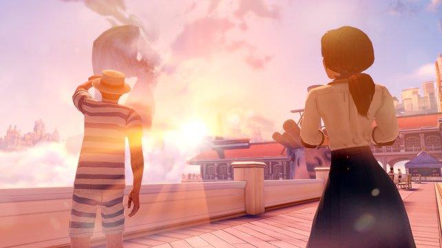 Alles an Bioshock Infinite ist Kunst: Die Charaktere, die Inszenierung und natürlich die Geschichte.