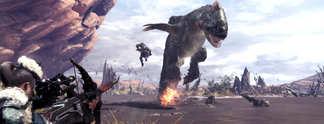 Vorschauen: Monster Hunter World angespielt: So macht Jagen endlich allen Spaß!