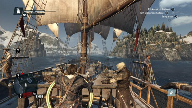 Assassin's Creed Rogue Remastered: Launch-Trailer und 4K-Videovergleich mit dem Original