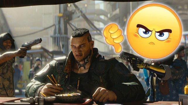 Auch die Entwickler von Cyberpunk 2077 sind sauer. Bildquelle: Getty Images/ yayayoyo
