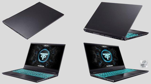 High-End Gaming-Notebook Hyrican Striker mit GeForce RTX 3080 + 2 Spiele gratis (Bildquelle: Otto.de)