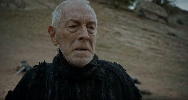 Max von Sydow in seiner Rolle als dreiäugiger Rabe in Game of Thrones