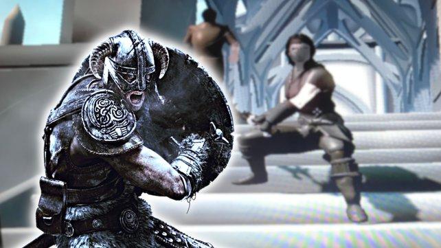 Fan findet heraus, wie unglaublich hässlich Skyrim aussehen kann.