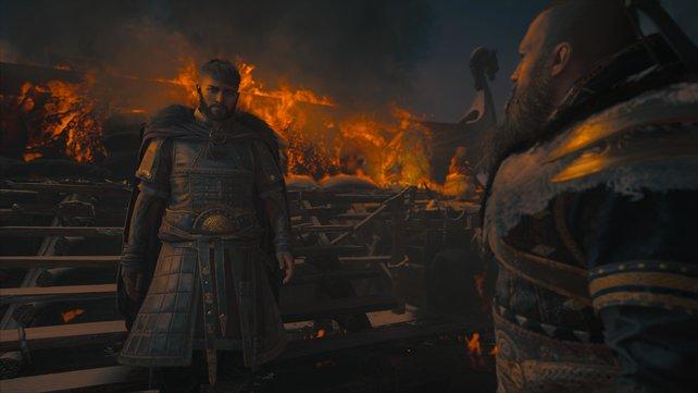 Vili hat den Scheiterhaufen in Brand gesteckt und damit seinen Vater nach Valhalla geschicht. Nun steht die Wahl bevor.