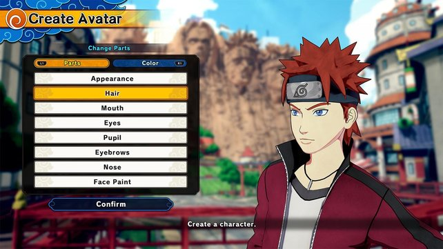Das Prinzip der Charaktererstellung wie in Naruto to Boruto - Shinobi Striker wäre ein essenzieller Bestandteil des Spiels.