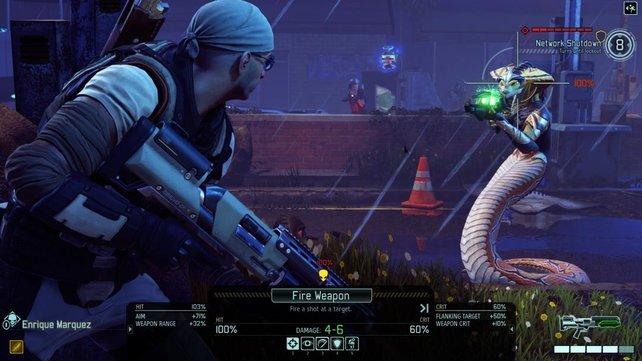 In Xcom 2 trefft ihr auf neue außerirdische Gegner, wie diese Vipern.