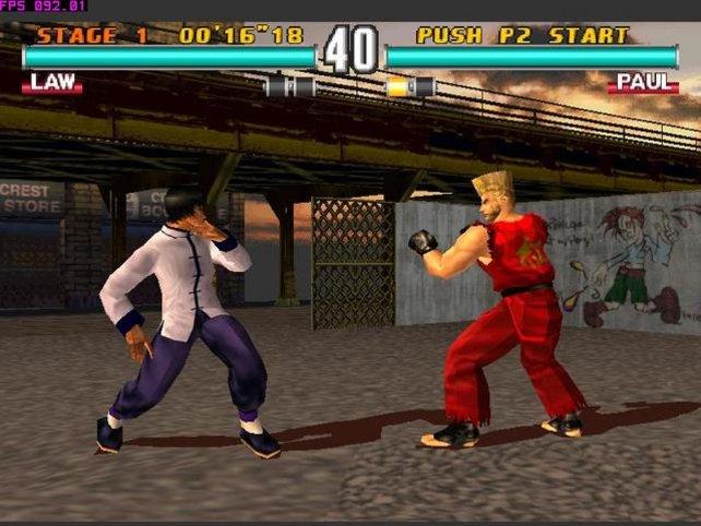 Nicht nur in Tekken 3 könnt ihr gegen Freunde antreten