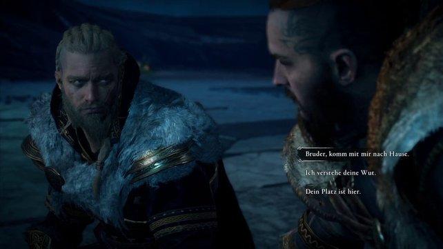 Besänftigt Sigurd mit der ersten Antwort.