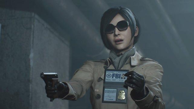 Die mysteriöse Ada Wong hat dazugelernt und geht nicht mehr im Cocktail-Kleid auf Zombie-Jagd.
