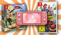 <span>Switch-Schnäppchen:</span> Nintendo Switch Lite und Ring Fit Adventure nur noch heute stark reduziert