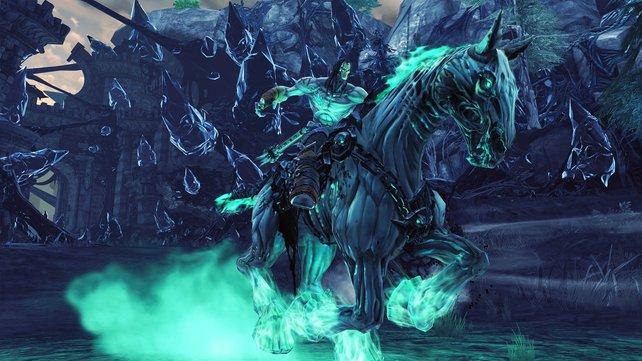 Wer ist jetzt cooler? Der Tod oder sein Pferd?