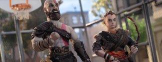 Panorama: Kratos & Sohnemann spielen Basketball in witzigem Werbespot