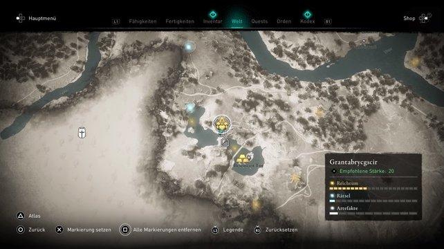 Die Jäger-Armschienen befinden sich in Grantabrycgscir.