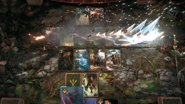 Gwent: The Witcher Card Game ist nicht nur spannend sondern sieht auch verdammt gut aus!