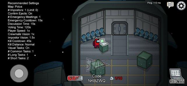 In dieser Lobby wartet ihr auf eure Spielkollegen aus der PC- und Handywelt.