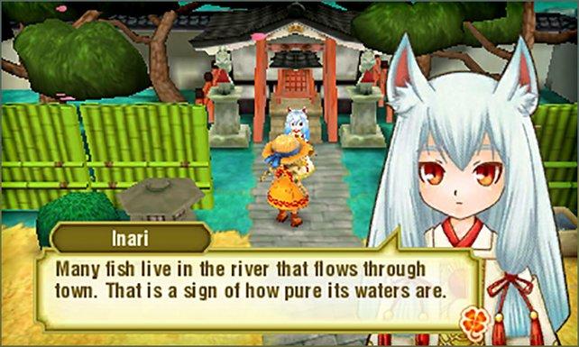 Inari ist einer der drei Schutzgeister im Spiel. Sie bringt euch euren Haustieren noch näher.