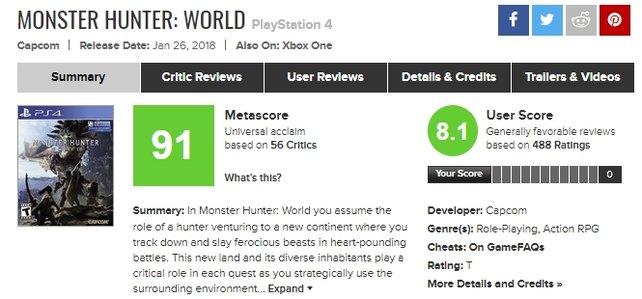 Quelle: Metacritic