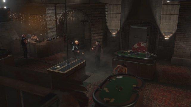 Wollt ihr bei Deus Ex - Mankind Divided den Kalibrator ind der Nebenmission SM 04 beschaffen, müsst ihr euch mit diesen Ganoven abgeben.