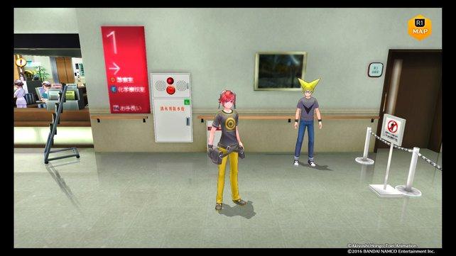 Victory Uchida wartet im Krankenhaus auf euch.