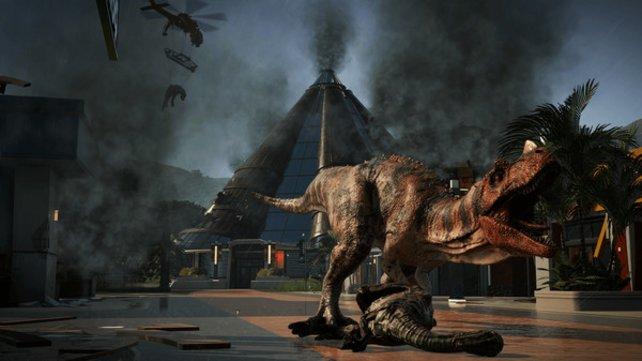 Den fleischfressenden Ceratosaurus könnt ihr durch Expeditionen auf Isla Matanceros freischalten.