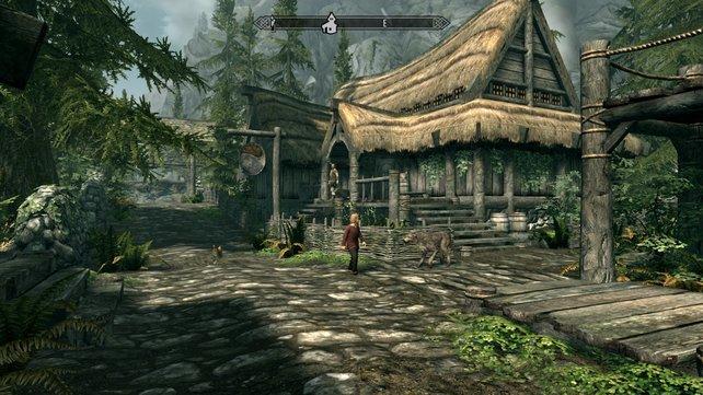 Viele Örtlichkeiten gefallen mit grafischer Finesse, auch wenn das Geschehen auf PS4 und Xbox One besser aussieht.