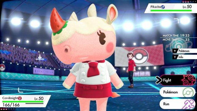 Die Tiere in Animal Crossing: New Horizons sehen immerhin schon aus wie Pokémon.