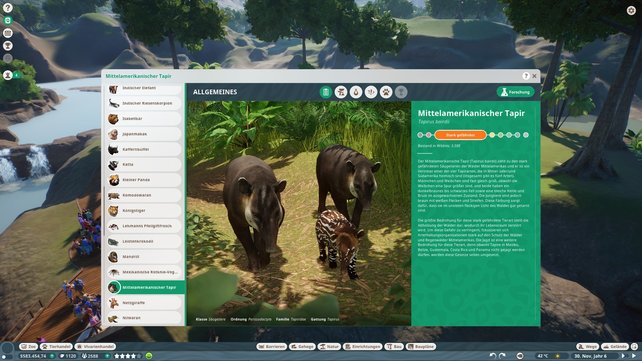 Das Zoopedia ist nicht nur nützlich für den Erfolg, sondern stillt auch den Wissensdurst über Tiere.