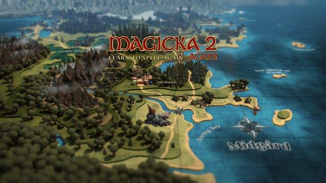 In Magicka 2 erwartet euch sehr viel magisches.