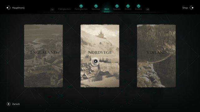 In Assassin's Creed: Valhalla könnt ihr reisen, wohin ihr wollt.
