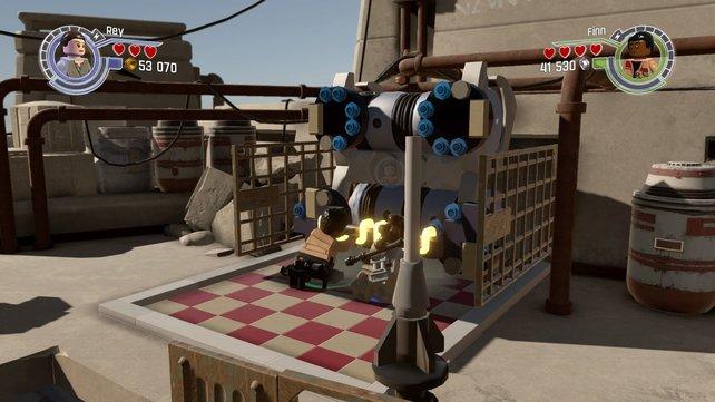 Die Handlung von Episode 7 wurde für das Spiel gestreckt und um einen Prolog ergänzt, in dem ihr das Finale von Episode 6 nacherlebt.