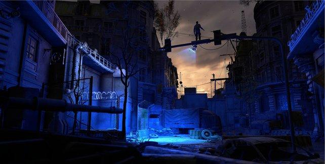 Nachts kommen die Infizierten aus ihren Verstecken und fallen über die Siedlungen her.