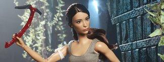 Puppenspiel: Lara Croft gibt es jetzt auch als Barbie