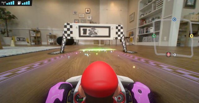 Mario Kart Live: Die Welt ist eure Rennstrecke! Vorsicht vor Möbeln und Haustieren!