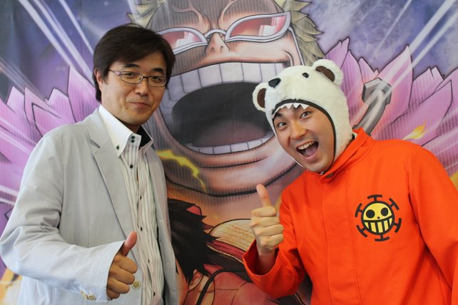 Die Macher hinter One Piece Pirate Warriors 3: Koji Nakajima und Hisashi Koinuma.
