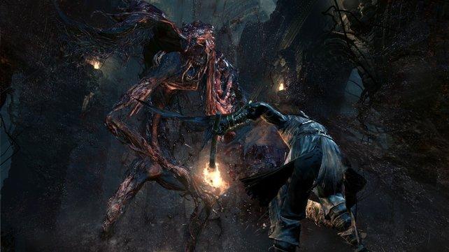 Höhepunkte von Bloodborne sind vor allem die Boss-Gegner.
