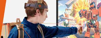 Nintendo Labo: Accessoire-Baukasten aus Pappe für die Nintendo Switch