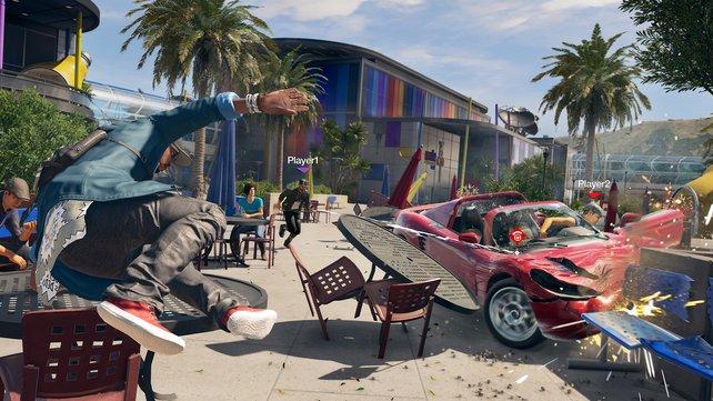 Etwas Parkour-Action darf auch in diesem Ubisoft-Abenteuer nicht fehlen.