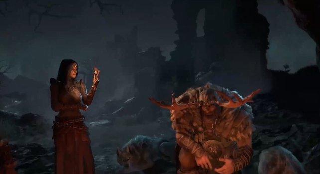 Zwei der Helden aus Diablo 4.