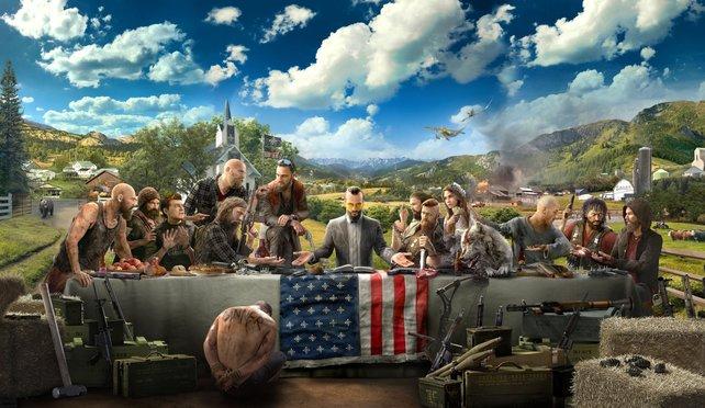 Politisch oder nicht? Far Cry 5 deutet die Botschaft nur an.