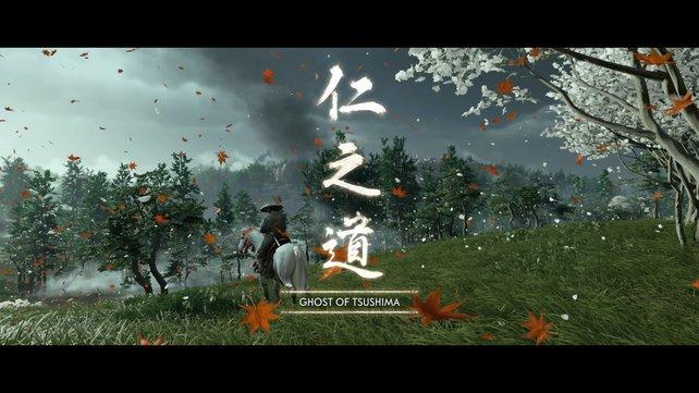 Mit dem in Ghost of Tsushima integrierten Fotomodus könnt ihr ganz einfach eure eigenen Titelbilder erstellen.