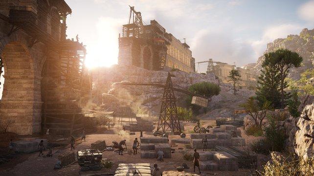 Assassin's Creed - Origins sieht bombe aus, spielt sich aber wegen des 30-FPS-Limits eher träge