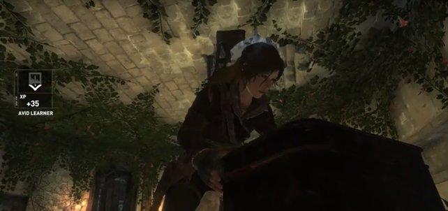 Lara ist wieder auf der Suche nach neuen Geheimnissen.