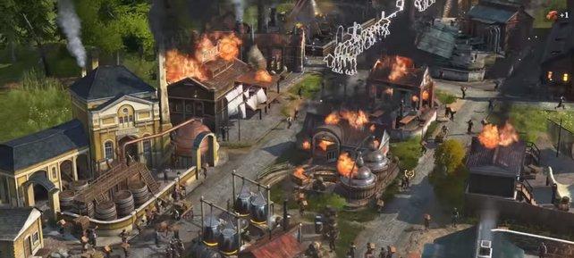 Mit Bränden werdet ihr oft in Anno 1800 konfrontiert … wirklich sehr oft.