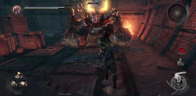 Onryoki stellt die erste richtige Herausforderung in Nioh dar.